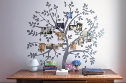 Família e História na decoração!