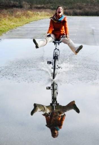 Bicicletas prontas para voar?