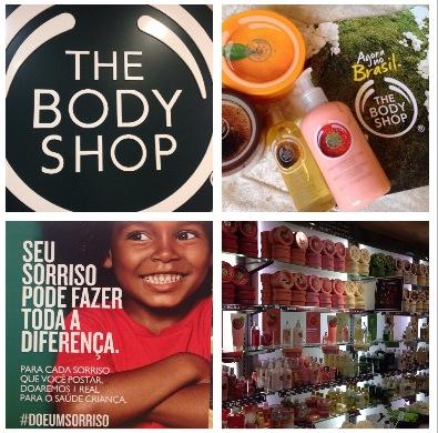 Tha Body shop chega ao Brasil sorrindo!