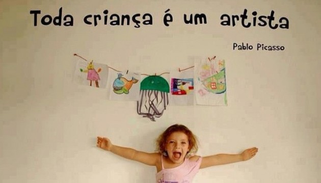 Criança e arte