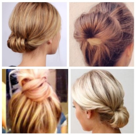 idéias fofas de penteados para o dia a dia
