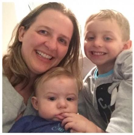Kathy, mudança de trabalho em função da maternidade