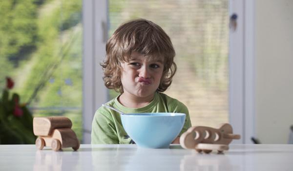 Meu filho não come porque não gosta!