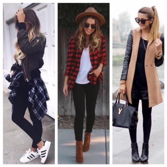 Inspirações para se vestir no frio!