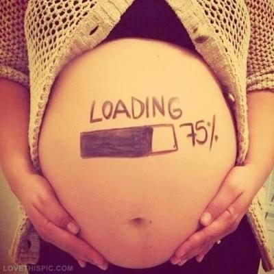 Carta para uma grávida de uma mãe com algum tempo de maternidade