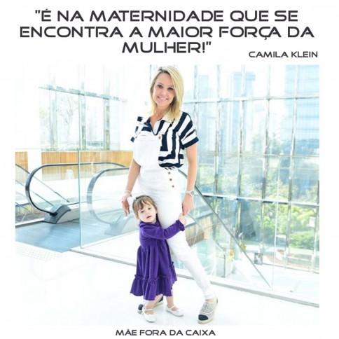 Camila Klein fala de maternidade